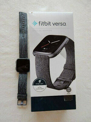 OEM Fitbit Versa Smart Watch Special Edition and Classic Bands included