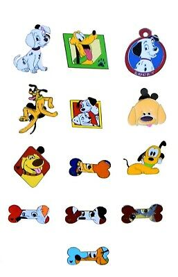 Dog Themed 5 Trading Pins Set Walt Disney Parks ~ Randomly Assorted ~ Brand NEW