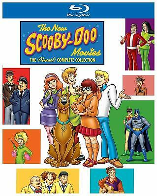 The New Scooby Doo Movies The Almost Complete Collection New Region B Blu-ray