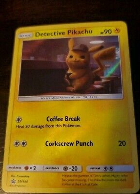 Pokemon Detective Pikachu & 1 Random Card Exclusive Rare Sealed Theater Pack