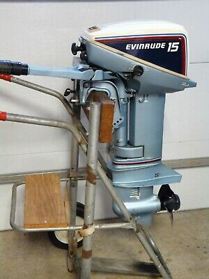 Evinrude 15 Hp >> 15 Hp Johnson Tiller Outboard Boat Motor Short Shaft 2