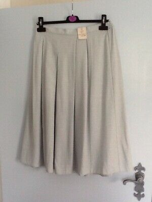 505df24bf Ladies New summer skirt from EWM size 12 pleated front light aqua green