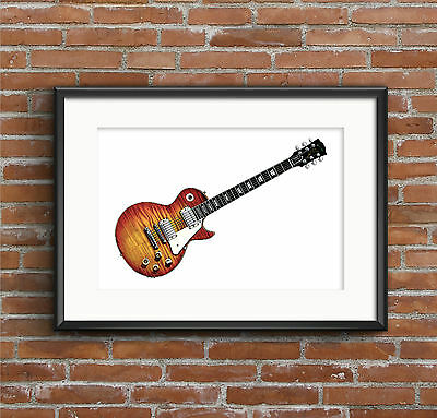 Mike Bloomfield'S 1959 Gibson Les Paul Standard - Póster A1 Talla