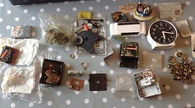 Vintage Clock Movement Parts For Battery Electric Clockmakers Spare Parts