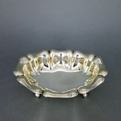 Beautiful Silver Foot Bowl from Italy