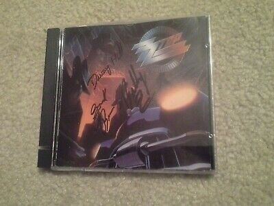 ZZ Top Autographed Recycler Cd