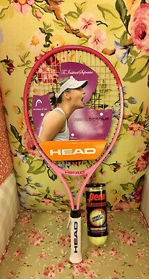 Head Nano-Titanium Exclusive Ti-Instinct Supreme Tennis Racquet Women Pink White