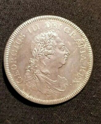 1804 George 111 silver bank token five 5 shillings/dollar UNC