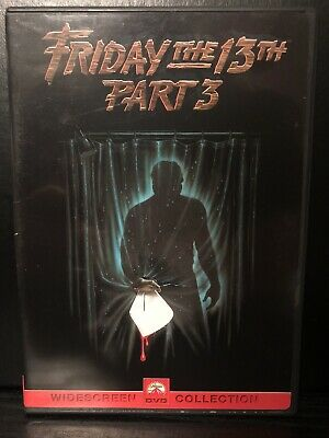 Friday the 13th - Part 3 (DVD, 2000-English & French Language)-Horror