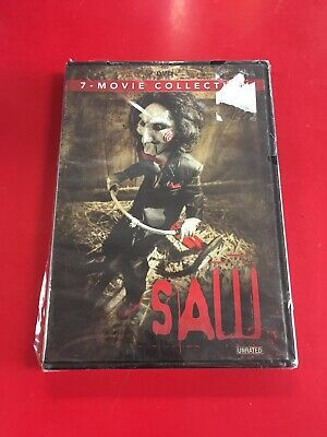 Saw: The Complete Movie Collection (DVD, 2014, 4-Disc Set) BRAND NEW *SEE DETAIL