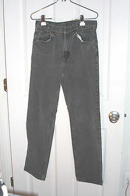 9f687ed9 Plain Pockets Vintage Black Jeans By JcPenney 30x30 Made In USA 100% Cotton