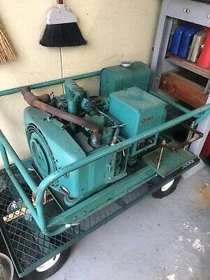 1955 ELECTRIC ONAN 12 5kv 1-3 phase 4C Gas standby generator