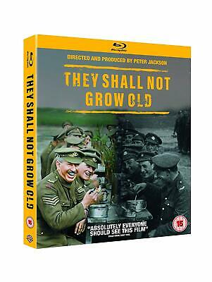 THEY SHALL NOT GROW OLD [Blu-ray] REGION FREE - works on ALL blu-ray players!