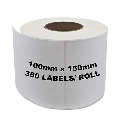 DIRECT THERMAL 4x6 Labels Roll 100x150mm Fastway AUSPOST eParcel Shipping Label