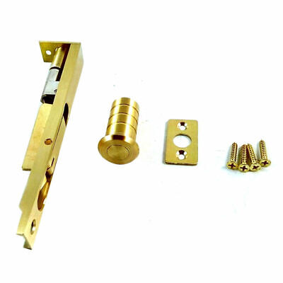 8inch Luxury Brass Door Bolt Latch Lever Action Flush Slide Door Lock Bolt