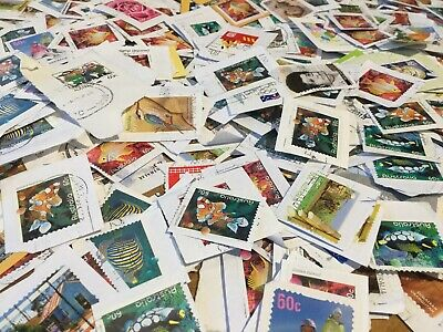 Australian Stamps 500 Mixed 60c & Higher Some Sets Sets Recent/Vintage/Used/Bulk