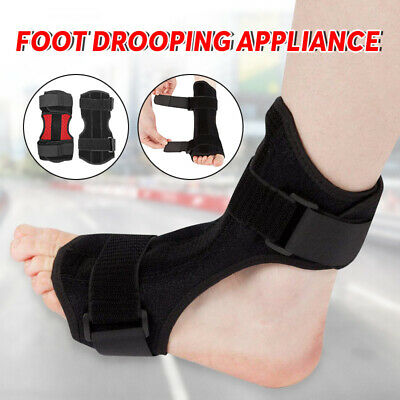 Foot Drop Orthosis With Sock Brace Splint Plantar Fasciitis Ankle Achilles Night