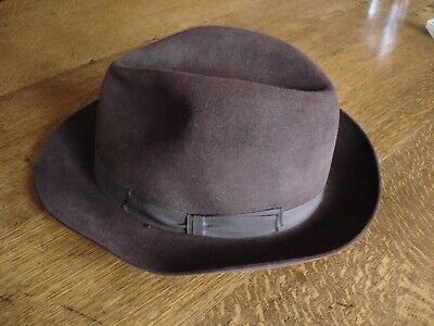 Vintage Woodrow Of Piccadilly Gent's 'Sportsman' Trilby