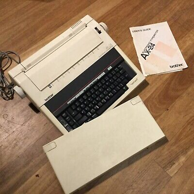 Vintage Quality Brother Electronic Typewriter AX-24