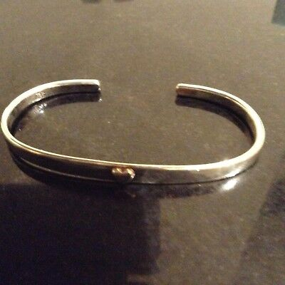 Tales Of The Earth Of London-Silver Gift Christening Bangle New In Box