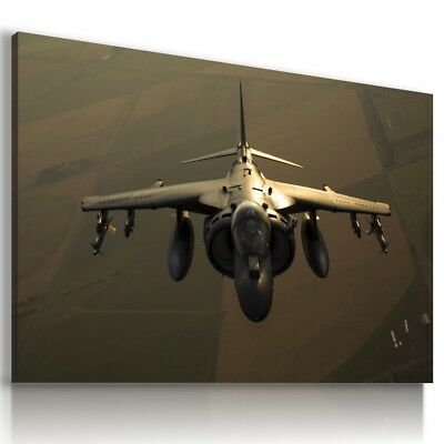 AIRCRAFT AIRPLANE SKY DESIGN CANVAS WALL ART PICTURE LARGE SIZES AR14 MATAGA .
