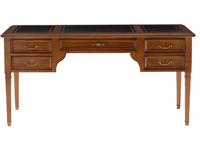GRANGE DIRECTOIRE WRITING DESK with leather on top and 5 drawers