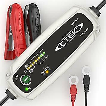 CTEK MXS 3.8 12v Car Bike Caravan Smart 8Step Fully Automatic Battery Charger-5