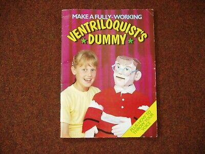 David Woodroffe Make A Fully Working Ventriloquist Dummy + How To Throw Your Voi