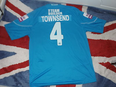 Michael Townsend Tamworth FC, Blue Jako Football Shirt M, 2013/2014