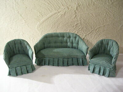 Navy C200 Dollhouse Miniature Cara Living Room Sofa