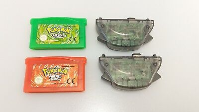 GENUINE Pokemon Fire Red & Leaf Green Wireless Adapters Gameboy Advance GBA #2