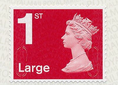 """2016 """"M16L""""-""""MBIL"""" 1st LARGE DEEP Red SBP1- Single Stamp from Business Sheet"""