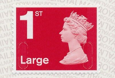 """2017 """"M17L""""-""""MBIL"""" 1st LARGE DEEP Red SBP2u - Single Stamp from Business Sheet"""