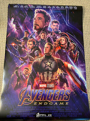 AVENGERS ENDGAME 27x40 ORIGINAL FINAL POSTER D/S DS Double Side US MOVIE MARVEL