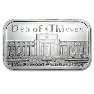 "USA  "" Den of Thieves "" ,1 oz Silberbarren 999/1000"