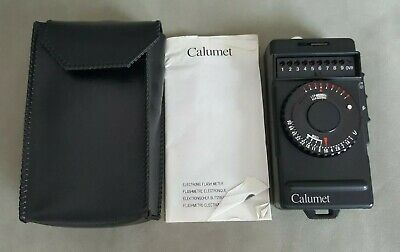 Calumet Electronic Flash Meter