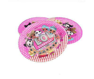6 PCS LOL SURPRISE DOLLS Kids Birthday party Candy Sweet Boxes