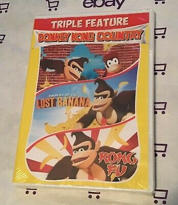 Donkey Kong Country | Raiders of the Lost Banana | Kong Fu (DVD Triple Feature)