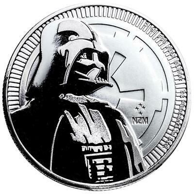 Niue - 2 Dollar 2017 - Darth Vader™ - Star Wars™ , 1 oz Silbermünze 999/1000