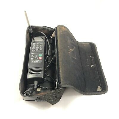 Vtg Motorola Cellular Mobile Car Bag Cell Phone — Southwestern Bell