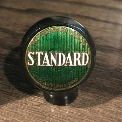 Vintage Standard Beer - Brewing Co Ball Tap Knob Cleveland Oh Ohio
