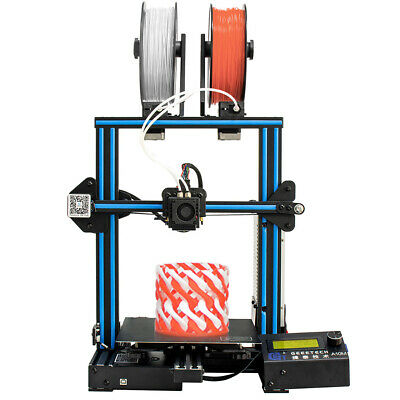 Geeetech A10M Mix-color Prusa I3 3D Printer 220*220*260mm Printing Size