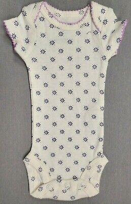 45f2e0fae Nwot Precious Firsts By Carter's Preemie Baby Girl Purple & Blue Floral  Bodysuit