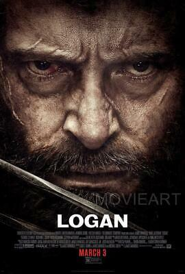 Logan Marvel Poster Film A4 A3 Cinema Movie Print Art #2