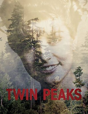 Twin Peaks 1990 Vintage Movie Poster A0-A1-A2-A3-A4-A5-A6-MAXI 308