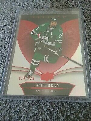 Jamie Benn 2018-19 UD Trilogy Red Parallel #'d/425 Dallas Stars