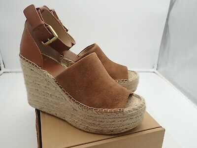 fb490fa6564 MARC FISHER LTD Adalyn Women's Espadrille Wedge Sandals size 10 M
