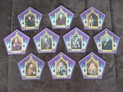 Harry Potter Chocolate Frog Cards - Complete 10 Card Set w/ Devlin Whitehorn
