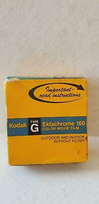 New Kodak Ektachrome Type G 160 Color Movie Film Super 8 EG 464 50ft Expired