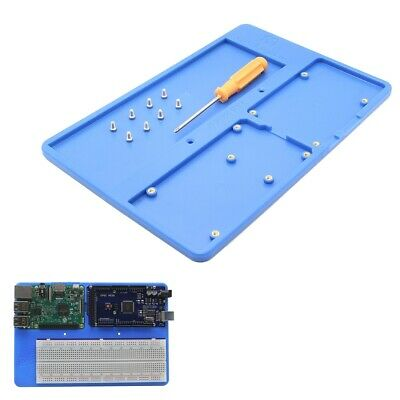 Geekworm 5 in 1 RAB Holder Breadboard ABS Base Plate For Arduino UNO R3 MEGA2560